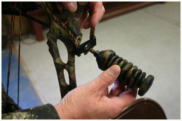 how to install a bow sling pic 1