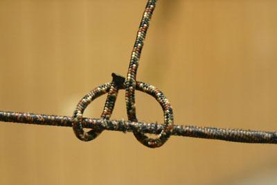 tying a d loop