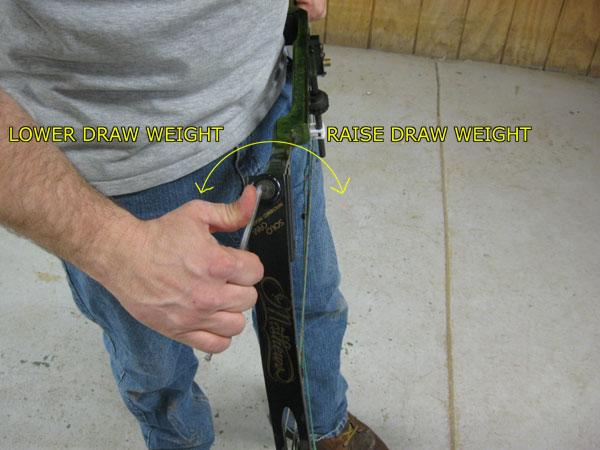 Draw Weight & Adjusting Compound Bow Draw Weight