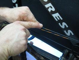 tying archery knots