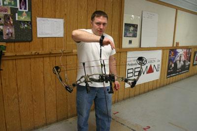 archery grip