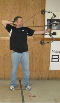 good archery form