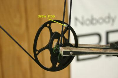 timing a bow draw stop