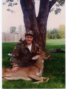 first deer kill