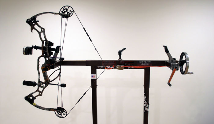 archery draw board