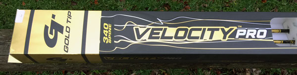 gold tip velocity pro arrow review