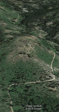 public elk hunting colorado road