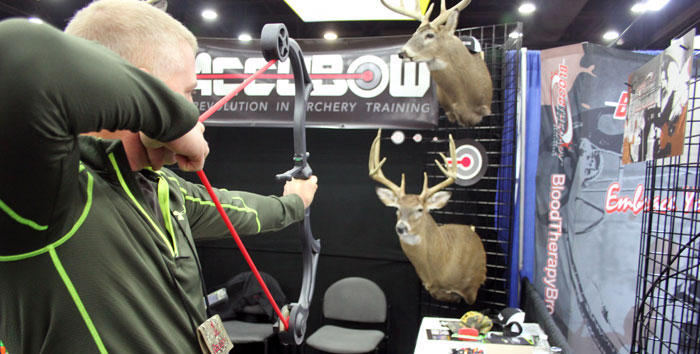 accubow archery training device