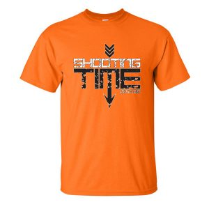 safety orange logo shirt