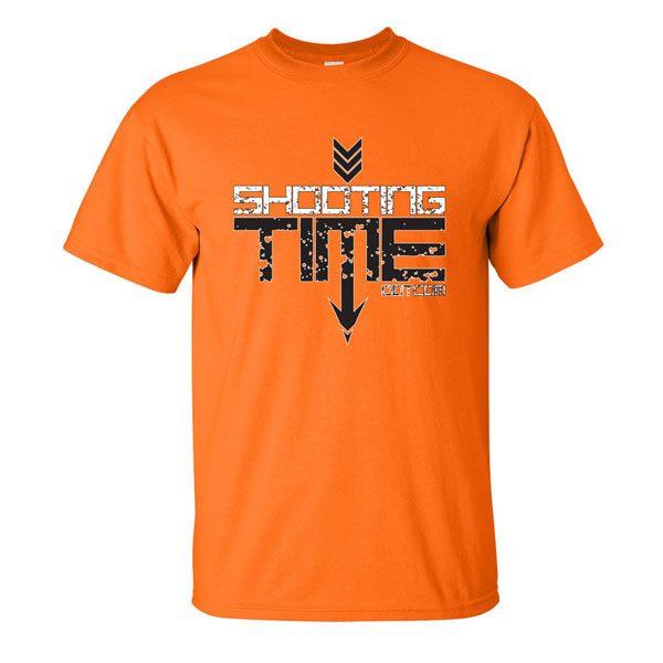 safety orange logo shirt