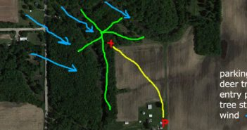 hunting tips google earth