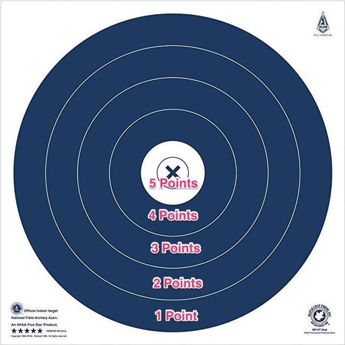 nfaa 300 round target