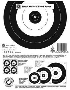 field archery target face