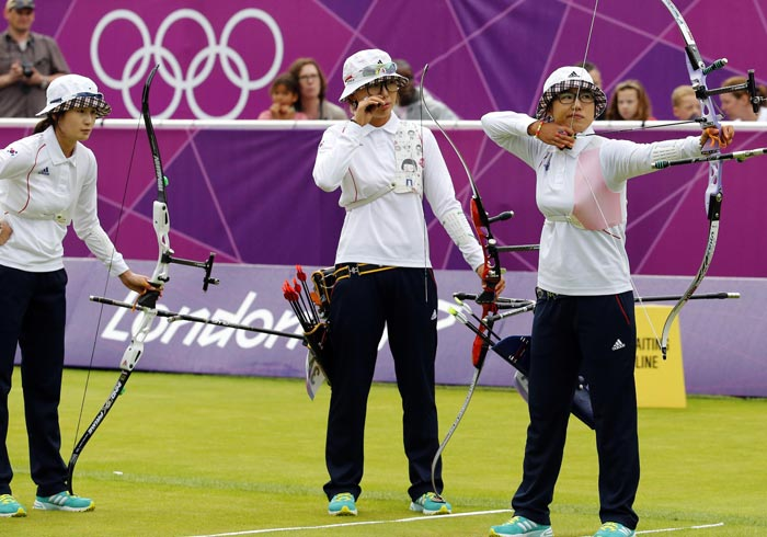 olympic archers korea