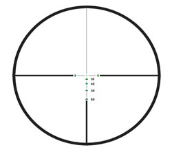 excalibur tact zone crossbow scope reticle