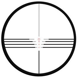 parker bows red hot crossbow scope reticle