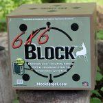 Block 6x6 archery target