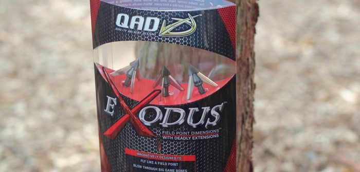 QAD Exodus Broadhead Review [images, videos]