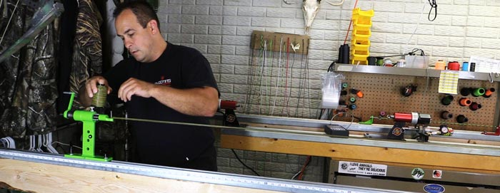 making a bowstring