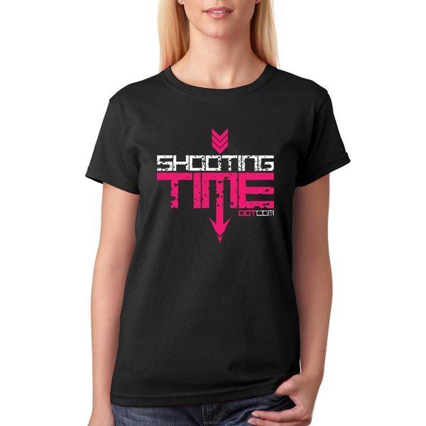 womans pink tshirt