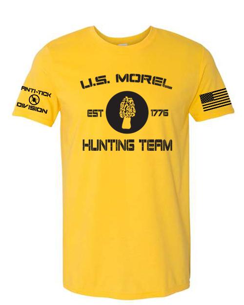 yellow morel shirt