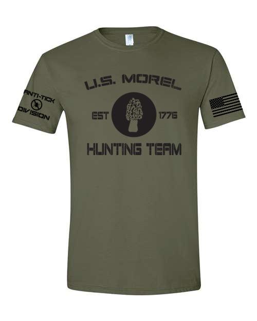 military green morel shirt